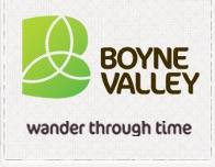 Boyne Valley Tourism Logo Slane heritage