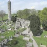 Monasterboice high crosses and round tower